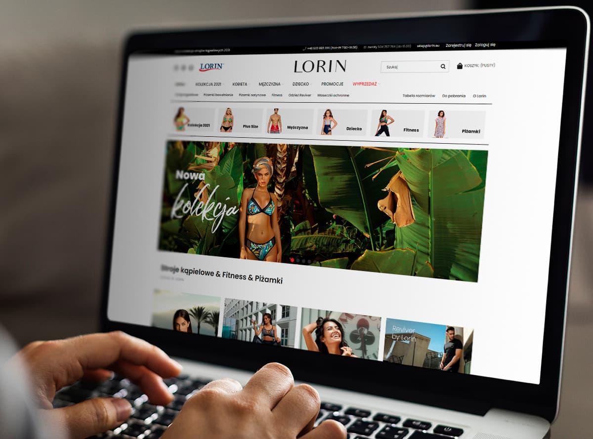 Realizacja Sklep Lorin | weboski