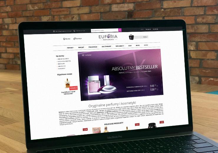 Realizacja Perfumeria Euforia | weboski