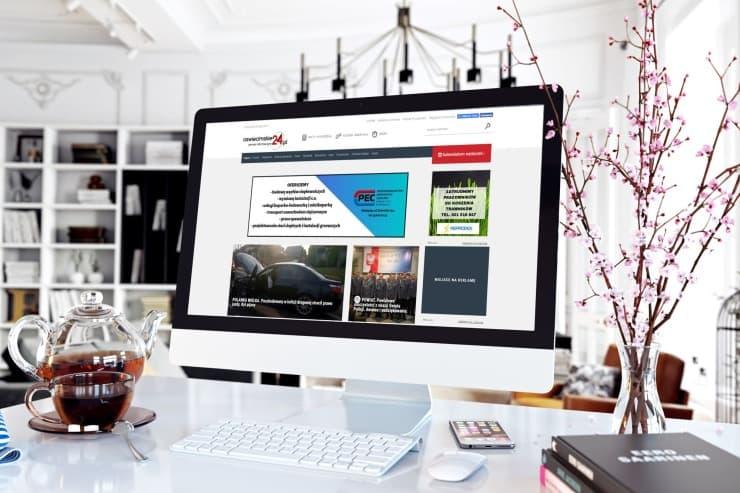 Realizacja Portal informacyjny Oświęcimskie 24 | weboski