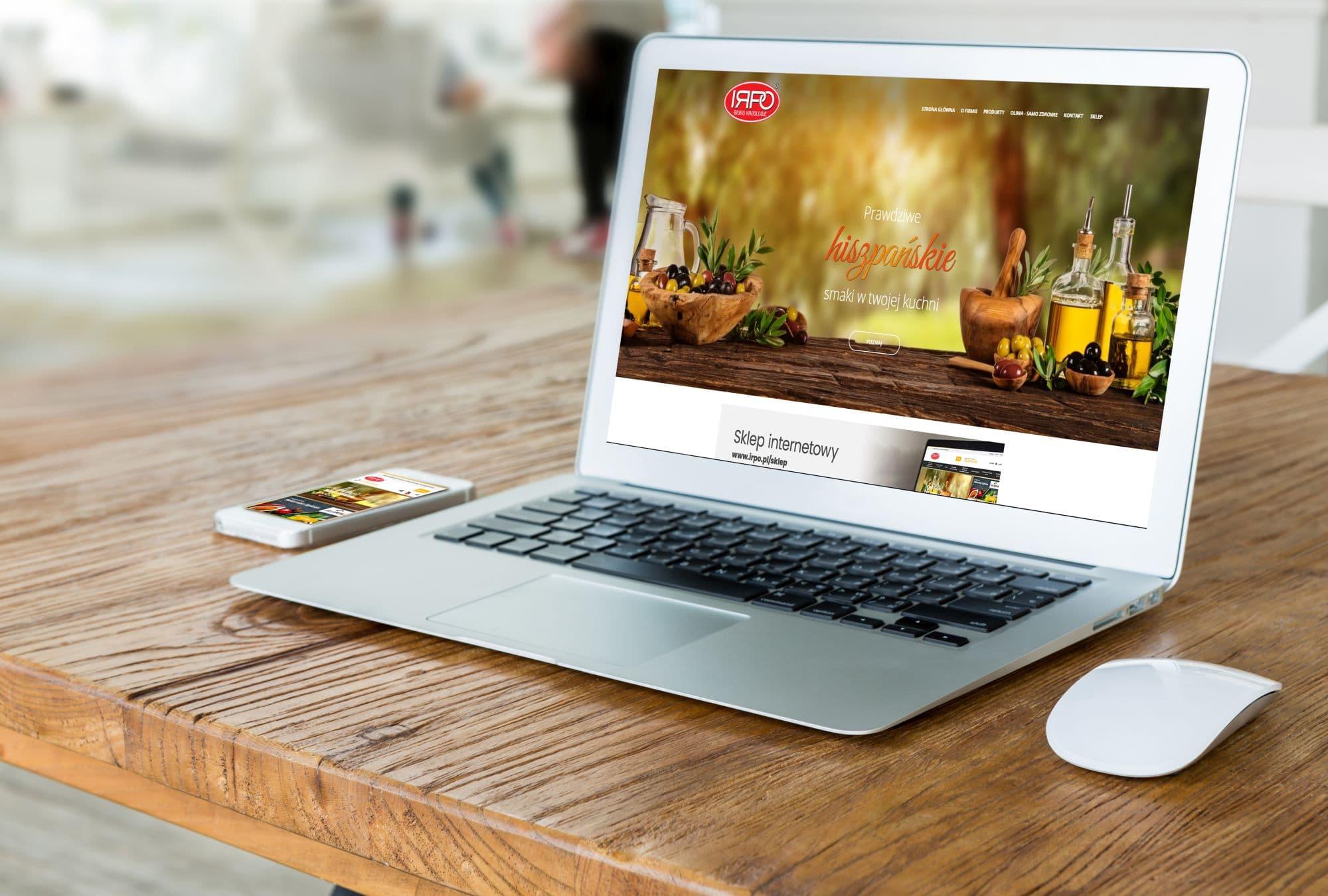 Realizacja Serwis i sklep IRPO | weboski