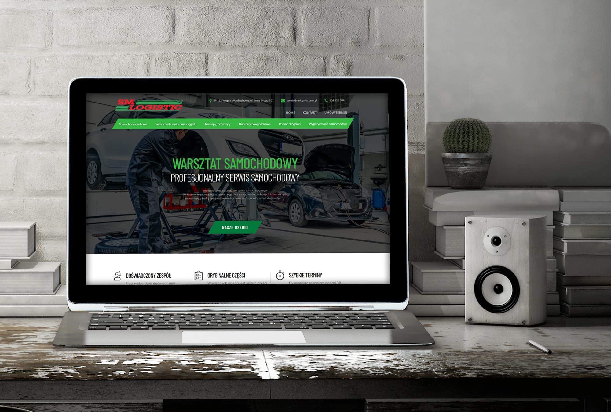 Realizacja Serwis SM Logistic | weboski
