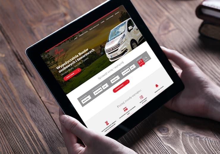 Realizacja Alpin Wypożyczalnia | weboski