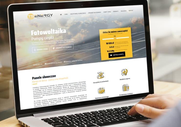 Realizacja TS Energy | weboski